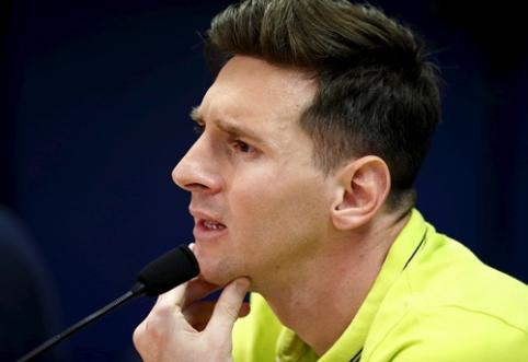 R. Koemano leptelėjimas, galutinai supykdęs L. Messi