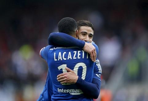 """""""Lyon"""" prezidentas: Fekiras ir Lacazette'as liks klube"""