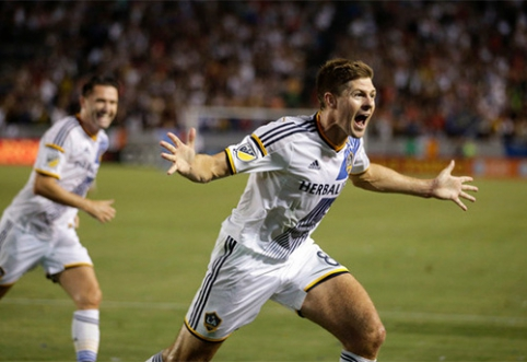 S.Gerrardo debiutas MLS pažymėtas įvarčiu (VIDEO)