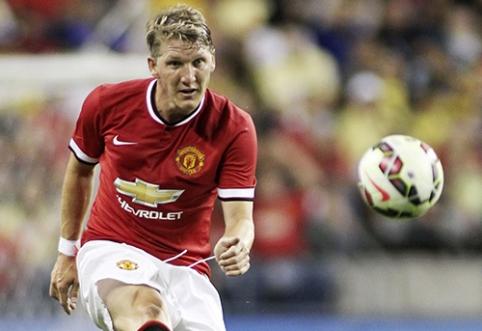 """B.Schweinsteigeris: """"Man Utd"""" yra didesnis klubas už """"Bayern"""""""