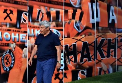 """Karo iškankintą Donbasą palikę """"Shakhtar"""" – vėl per žingsnį nuo Čempionų lygos"""