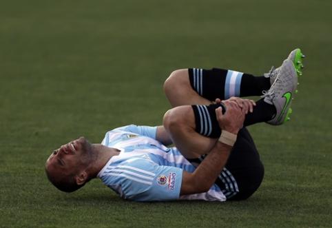 """Puikiai sezoną pradėjęs """"Man City"""" mėnesiui neteko P.Zabaletos"""