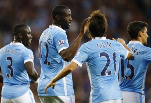 """""""Man City"""" Anglijos pirmenybes pradėjo užtikrinta pergale"""