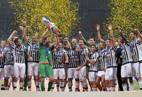 """Italijos Supertaurę iškovojo """"Juventus"""" (VIDEO)"""