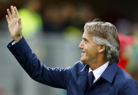 Oficialu: R. Mancini pratęsė kontraktą su Italijos federacija