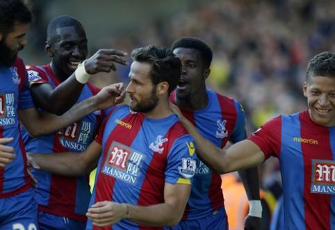 """""""Crystal Palace"""" po dviejų pralaimėjimų iš eilės atsitiesė Votforde (VIDEO)"""