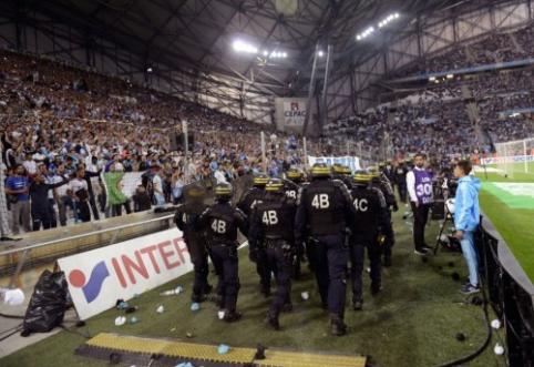 """""""Monaco"""" nusileido """"Lorient"""", o kupinas aistrų mačas tarp """"Lyon"""" ir """"Marseille"""" baigėsi lygiosiomis"""