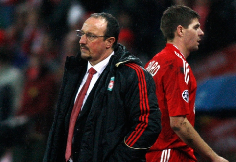 "S. Gerrardas: ""R. Benitezas manęs nemėgo"""