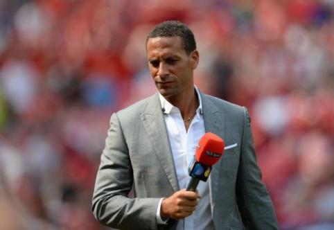 """R. Ferdinandas: nematau """"Man Utd"""" tarp Čempionų lygos favoritų"""