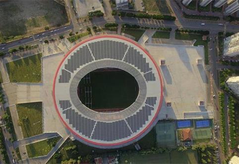 Turkijoje duris atvėrė ypatingas stadionas