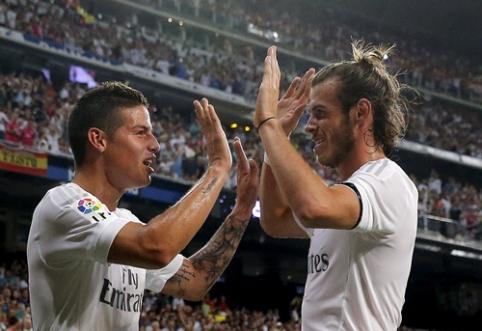 """Real"" prieš ""Celta"" - be K.Benzema, G.Bale'o ir J.Rodriguezo"