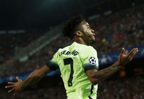 """R. Sterlingas: lyginant su """"Liverpool"""" """"Man City"""" yra žingsnis pirmyn"""