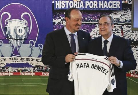 """""""Sky Sports"""" žurnalistas: Benitezas - per žingsnį nuo darbo netekimo"""