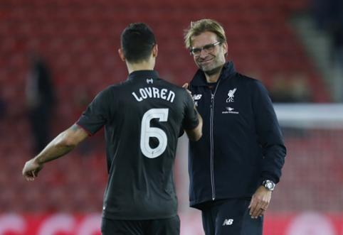 """""""Liverpool"""" gretose į rikiuotę sugrįžta D. Lovrenas ir S. Mignolet"""