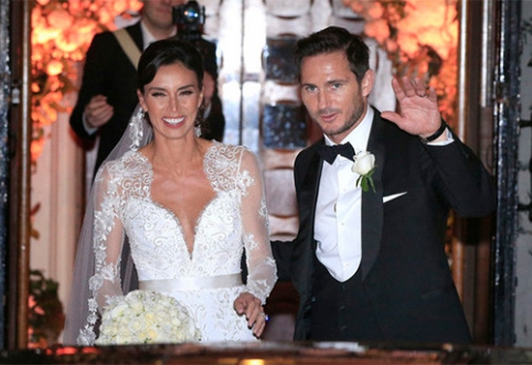 POP: F.Lampardo vestuvėse apsilankė būrys garsenybių su J.Terry priešakyje