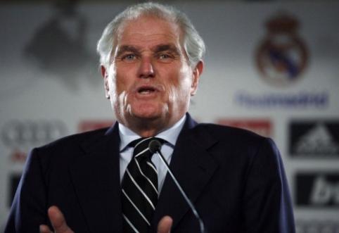 """Buvęs """"Real"""" prezidentas: Mourinho jau pakeliui į Madridą"""