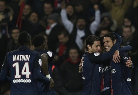 """PSG sumalė į miltus """"Lyon"""", """"Monaco"""" priartėjo prie antrosios vietos (VIDEO)"""