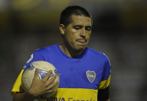 "J. Riquelme: ""River Plate"" gali įveikti ""Barcą"""