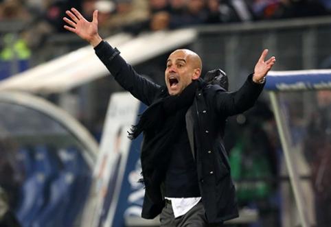 "J.Guardiola sukėlė audrą ""Bayern"" rūbinėje"