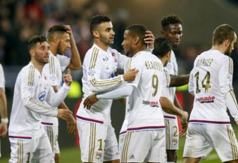 """""""Lyon"""" atsitiesė prieš """"Troyes"""", """"Angers"""" grįžo į antrąją vietą"""