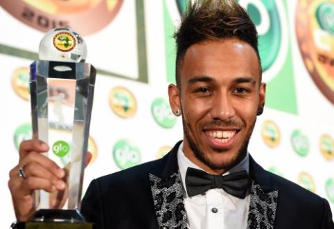 Oficialiuose rinkimuose geriausiu Afrikos futbolininku tapo P. Aubameyangas