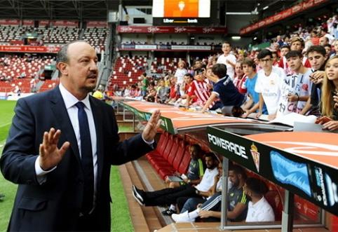"""R. Benitezas atskleidė, kad sieks sugrįžti į """"Premier"""" lygą"""