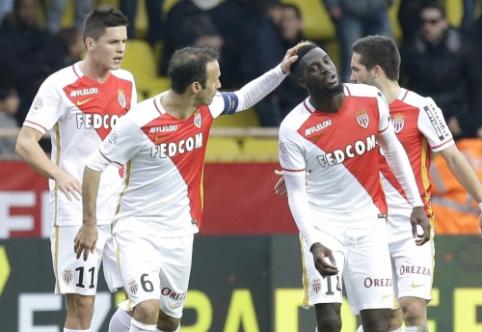 """""""Monaco"""" dešimtyje palaužė """"Nice"""", """"Lyon"""" išvykoje sutriuškino """"Angers"""" (VIDEO)"""