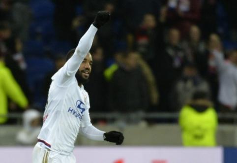"""Prancūzijoje trimis taškais džiaugėsi PSG ir """"Lyon"""" (VIDEO)"""