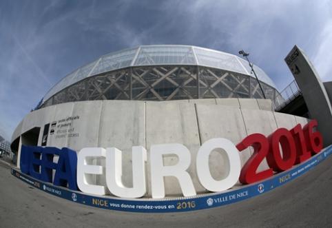 Prancūzijos prezidentas: niekada net nesvarstėme galimybės atsisakyti Europos čempionato