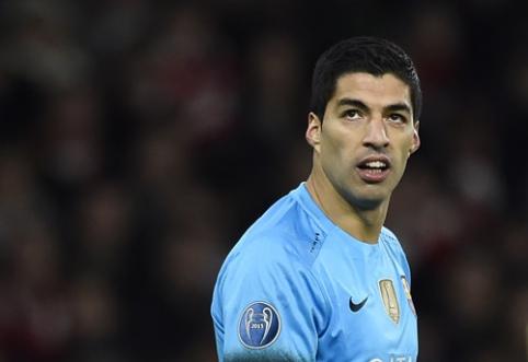 "L. Suarezas: nešvęsiu įvarčio prieš ""Barcelona"" klubą"