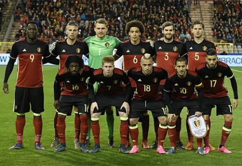 Belgijos rinktinė atšaukė treniruotes, abejojama dėl draugiškų rungtynių