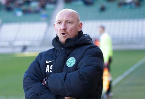 """Po keistų įvykių, A. Skarbalius dar kartą tapo """"Brondby"""" vyriausiuoju treneriu"""