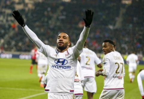"""""""Marseille"""" sužaidė lygiosiomis su """"Toulouse"""", """"Lyon"""" sutriuškino """"Guingamp"""" (VIDEO)"""