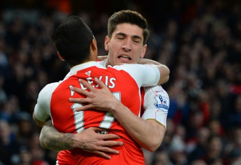 "A. Sanchezo dublis atnešė ""Arsenal"" ekipai pergalę prieš ""West Brom"" (VIDEO)"