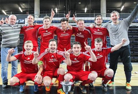 """""""Klaipėdos universitetas"""" - Lietuvos Futsal taurės nugalėtojas"""