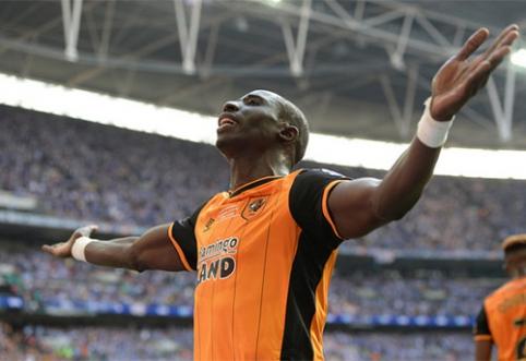 """Fantastiškas M. Diame įvartis """"Hull City"""" atvedė į """"Premier"""" lygą (VIDEO)"""