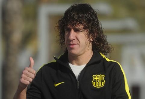 """C. Puyolis: """"Real"""" fanams sunku pripažinti, kad L. Messi yra geriausias"""