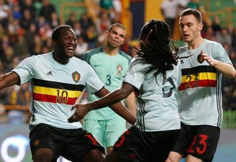 Belgijos rinktinė atskleidė žaidėjų sąrašą, kurie vyks į EURO 2016