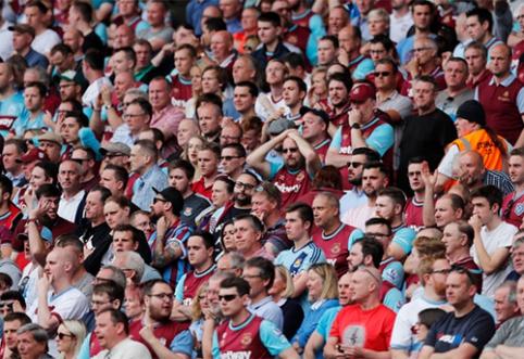 """Tai bent fanai: """"West Ham"""" gerbėjai išpirko visus 52 tūkst. sezono abonementų"""