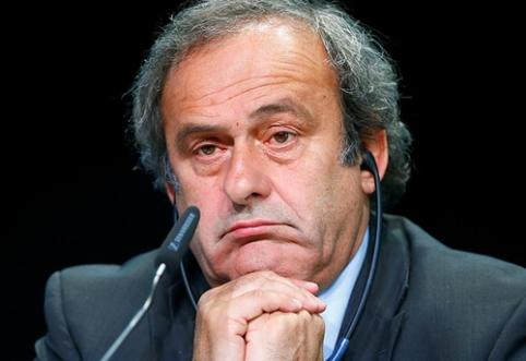 M. Platini sukritikavo ir Superlygos rengėjus, ir A. Čeferiną