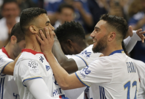 """""""Lyon"""" sumindė """"Monaco"""" ir užsitikrino sidabrą, """"Lille"""" nepavyko aplenkti """"Saint-Etienne"""" (VIDEO)"""