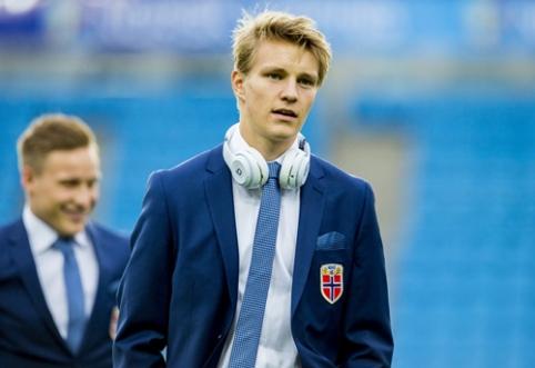 """""""Real"""" klube vietos nerandantis M. Odegaardas domina Vokietijos ekipas"""