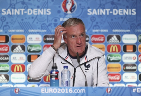 D. Deschampsas: šiam turnyrui rengiamės dvejus metus, todėl klysti negalime