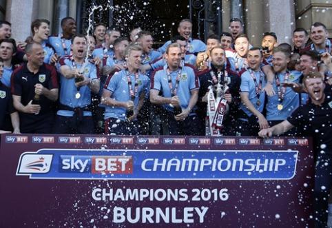 """""""Premier"""" lygos belaukiant: komandų apžvalga - """"Burnley"""""""