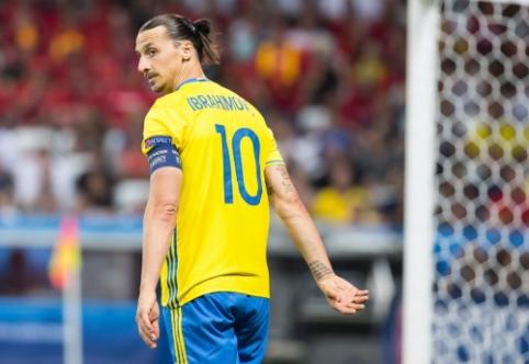 """Ibra dėl """"Man United"""" turėjo ištarti """"ne"""" D. Beckhamui"""