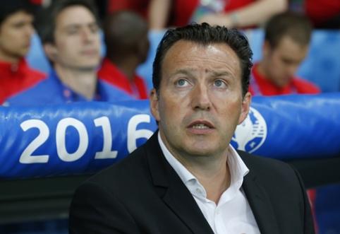 M. Wilmotsas atleistas iš Belgijos rinktinės trenerio pareigų