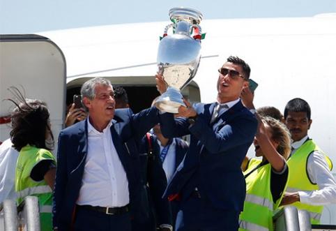 Europos čempionate žaidusios rinktinės išsidalino 300 mln. eurų