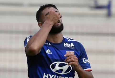 """Ligue 1: """"Lyon"""" pralaimėjo naujokams, """"Nice"""" sužaidė lygiosiomis su """"Lille"""" (VIDEO)"""