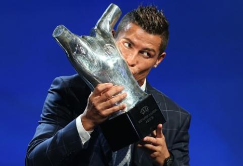 Geriausias Europos futbolininkas - C. Ronaldo