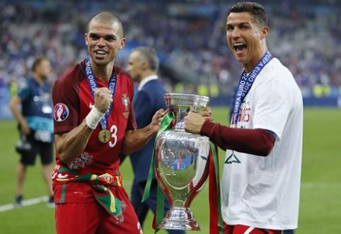 C. Ronaldo: Pepe buvo geriausias Europos čempionato žaidėjas